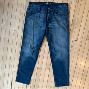 7 for All Mankind Straight Relaxed Fit Jeans